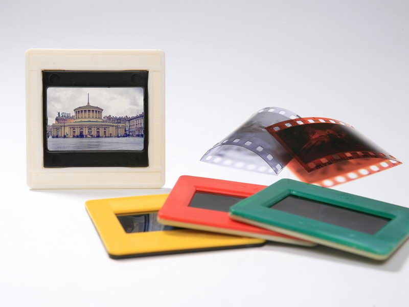 оцифровка слайдов, негативов, фотопленок